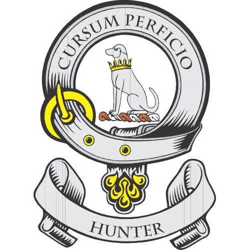 hunter coat of arms